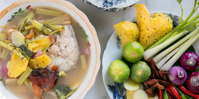 Pla Tom Soup from The Charm Dining Gallery in Phuket Town, Muang, Phuket, Thailand