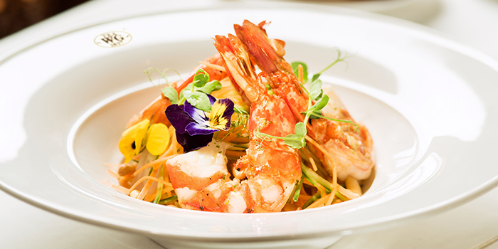 Prawn, Tea WG Salon & Boutique (IFC), Central, Hong Kong