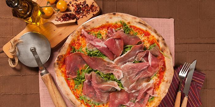 Prosciutto Crudo e Rucola Pizza from Rosso Vino in Robertson Quay, Singapore