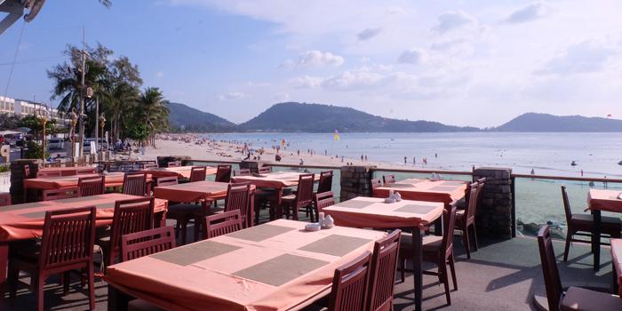 Restaurant-Atmosphere of Ocean Best Restaurant in Patong, Phuket, Thailand.
