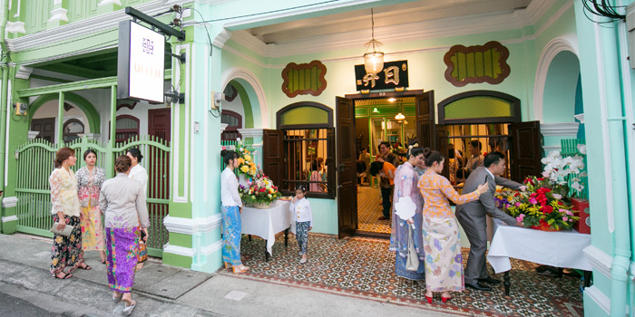 Restaurant Atmosphere of The Charm Dining Gallery in Phuket Town, Muang, Phuket, Thailand