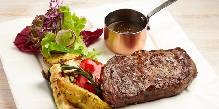 Rib Eye Steak from iO Italian Osteria at Central World Groove Zone, Floor 1 Rama 1 Rd, Pathumwan Bangkok
