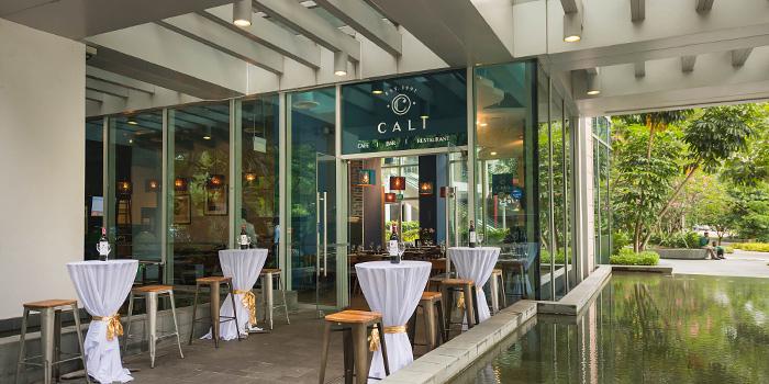 Entrance of Cali, Park Avenue Rochester Hotel at Park Avenue Hotel in Rochester, Singapore