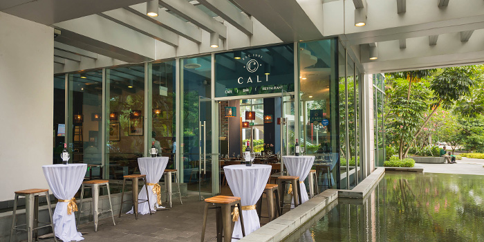 Entrance of Cali, Park Avenue Rochester Hotel at Park Avenue Hotel in Rochester, Singapore