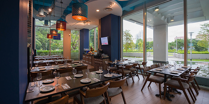 Interior of Cali, Park Avenue Rochester Hotel at Park Avenue Hotel in Rochester, Singapore
