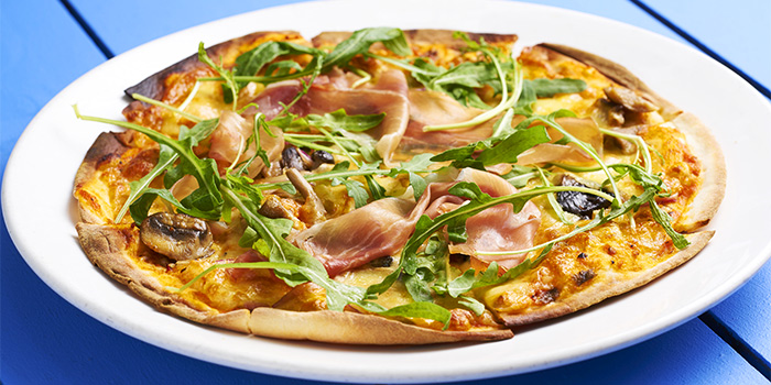 Porcini & Parma Ham Pizza from Coastes in Sentosa, Singapore