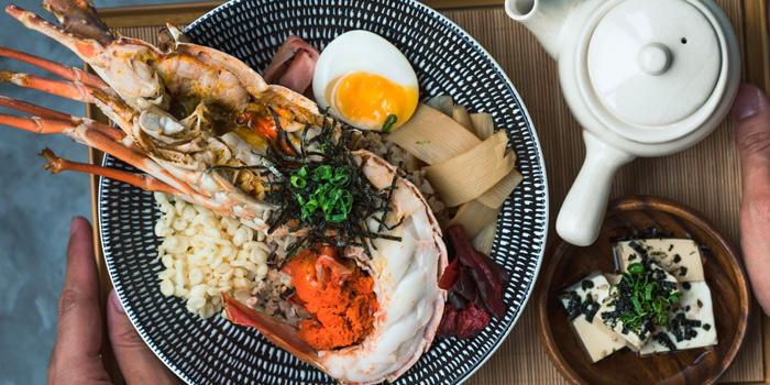 Bamboo Lobster Chazuke from Haru in Paya Lebar, Singapore