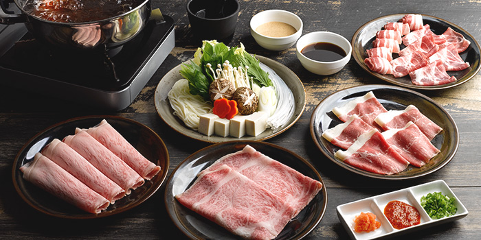 Shabu Shabu from Hinata at Robertson Walk in Robertson Quay, Singapore
