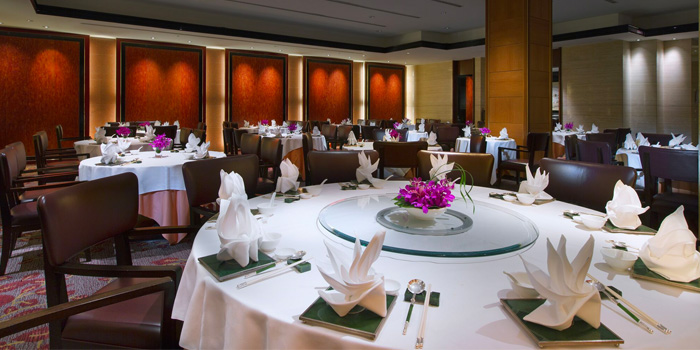 Main Dining Room of Li Bai Cantonese Restaurant at Sheraton Towers in Newton, Singapore
