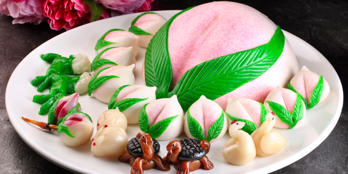 Longevity Buns from Peony Jade @ Keppel Club in Telok Blangah, Singapore