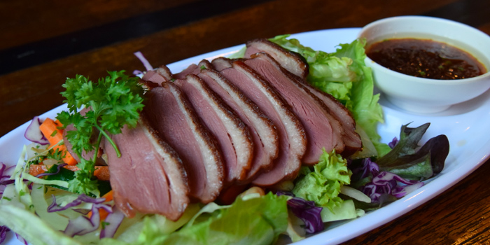 Roast Duck Salad from Red Noodle & Bottle Bar at Galaxis in Buona Vista, Singapore