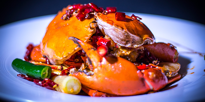 Mala Crab from Shu Yan SiChuan Cuisine in River Valley, Singapore