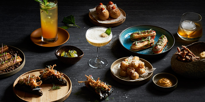 Bar Food from The Spot at Marina One The Heart in Marina Bay, Singapore