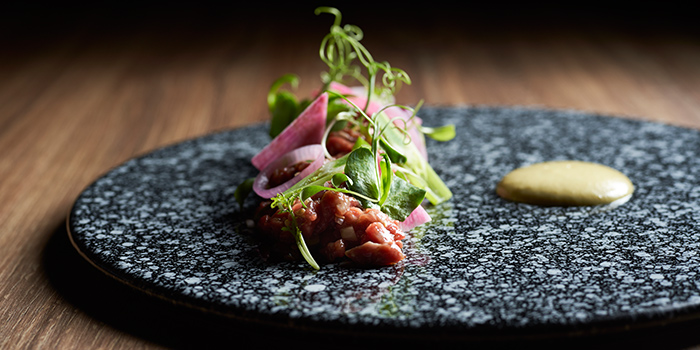 Beef Tartare from The Spot at Marina One The Heart in Marina Bay, Singapore