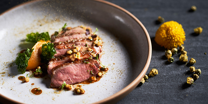 Chrysanthemum Duck Breast from The Spot at Marina One The Heart in Marina Bay, Singapore