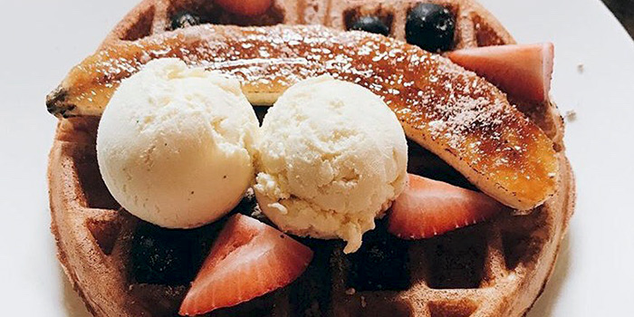 Ice Cream Waffle from YOUNGS Bar & Restaurant in Seletar, Singapore