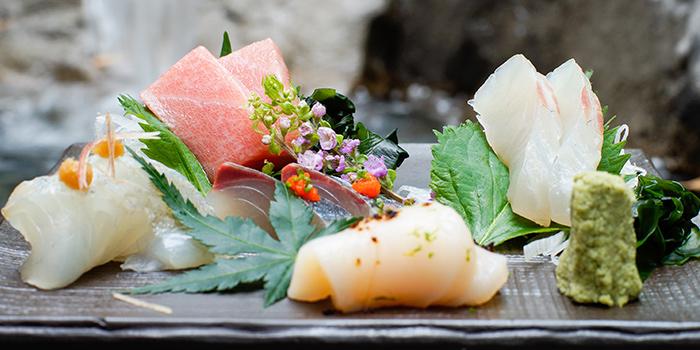 Sashimi from Kurama Robatayaki X Sushi Murasaki at Millenia Walk in Promenade, Singapore