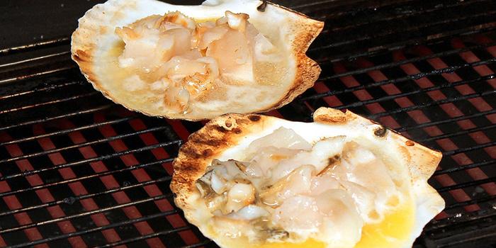 Scallops from Kurama Robatayaki X Sushi Murasaki at Millenia Walk in Promenade, Singapore