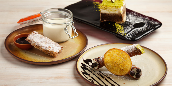 Signature Desserts from iO Italian Osteria at Central World Groove Zone, Floor 1 Rama 1 Rd, Pathumwan Bangkok