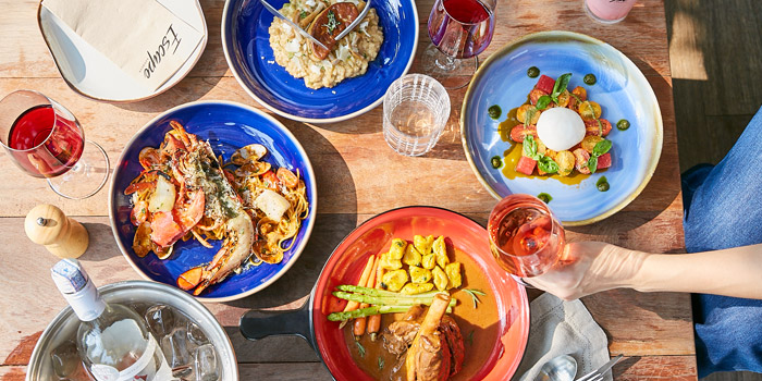 Signature Dishes from Escape Bangkok at Emquartier, Building 5 5th Floor, Wattana Bangkok