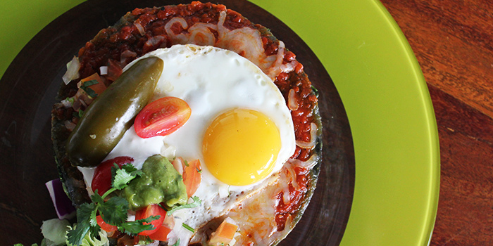 Swiss Flat Enchiladas from Margarita