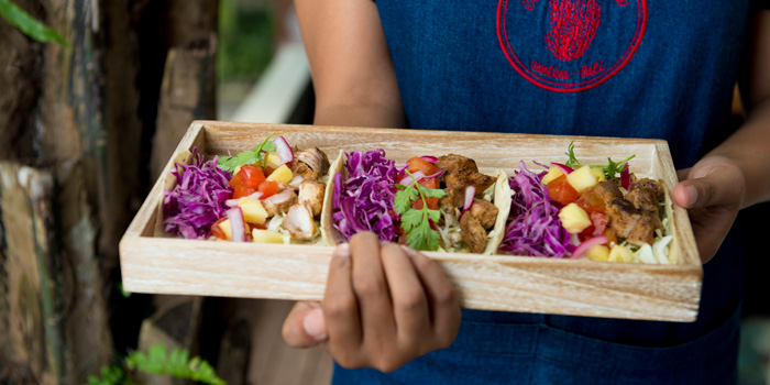 Dish 4 at El Mexicano, Bali