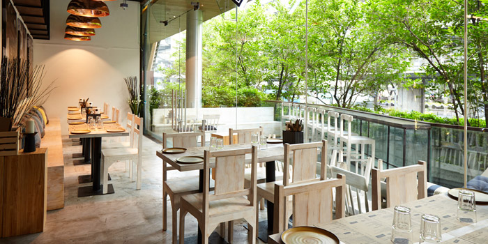 The Dining Room from iO Italian Osteria at Central World Groove Zone, Floor 1 Rama 1 Rd, Pathumwan Bangkok