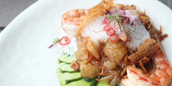 Yum Som-O from Ceilo Sky Bar & Restaurant at W District Sukhumvit 69-71, Sukhumvit Rd Phra Khanong Nua Wattana, Bangkok