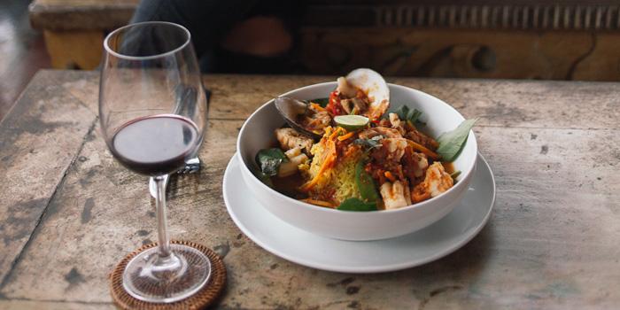 Dish 3 at Indus Restaurant, Bali