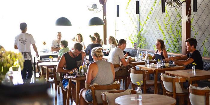 Interior 1 at Cinta Cafe, Bali