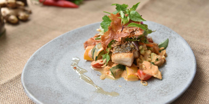 Barramundi at Grow Seminyak