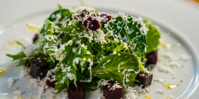 Beetroot Salad from Pizza Massilia at Ploenrudee Building 1Fl. Soi Ruamrudee, Ploenchit Rd Lumpini, Pathumwan Bangkok