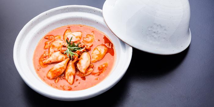 Baby Squids Bouillabaisse from Pizza Massilia at Ploenrudee Building 1Fl. Soi Ruamrudee, Ploenchit Rd Lumpini, Pathumwan Bangkok