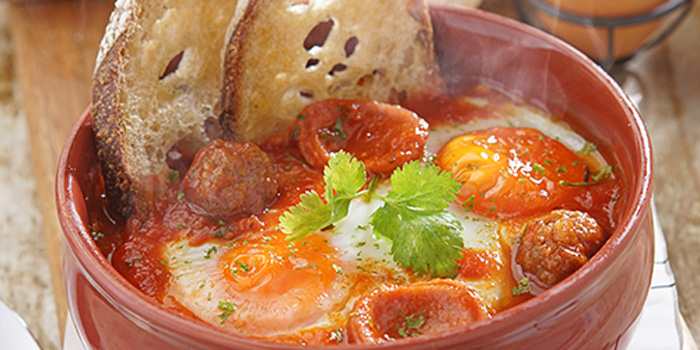 Baked Eggs at Social Affair, Cilandak Town Square