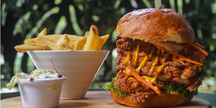 Buttermilk Chicken Burger from Jones the Grocer (Great World City) in Tiong Bahru, Singapore
