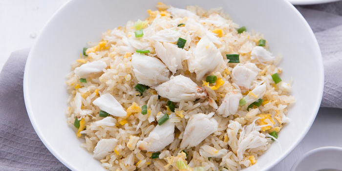 Crab Fried Rice from Laem Charoen Seafood at Central World, 3rd floor Ratchadamri, Patumwan Bangkok