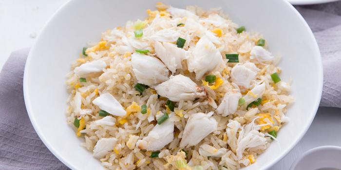 Crab Fried Rice from Laem Charoen Seafood at Central World, 3rd floor Ratchadamri, Patumwan Bangkok