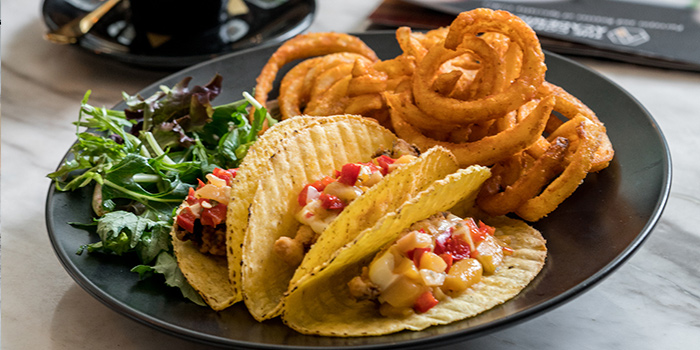 Crispy Fish Fillet Tacos from The Coffee Academics (Raffles City) in City Hall, Singapore