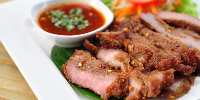 Crying Pork from Somtum Der at 5/5 Saladaeng Rd Silom, Bang Rak Bangkok