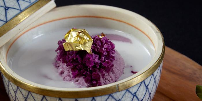 Dessert from Saffron at Banyan Tree Bangkok in Sathorn, Bangkok