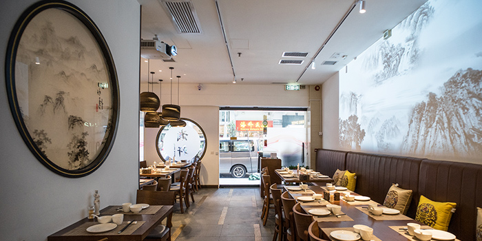Dining Area, Hunan Bistro, Causeway Bay, Hong Kong
