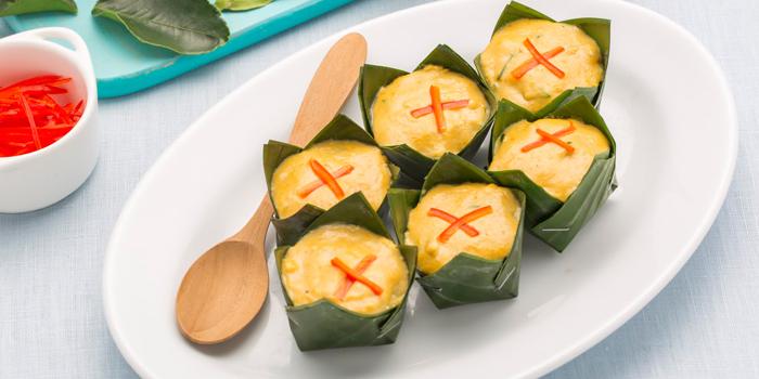 Hor Mok from Laem Charoen Seafood at Emquatier, 7 Flr. Unit 7A04, Sukhumvit Road Klongton-Nua, Wattana Bangkok