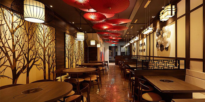 Interior from Chengdu 成都 in Telor Ayer, Singapore