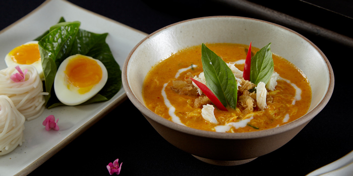 Khanom Jeen Namya Poo from Saffron at Banyan Tree Bangkok in Sathorn, Bangkok