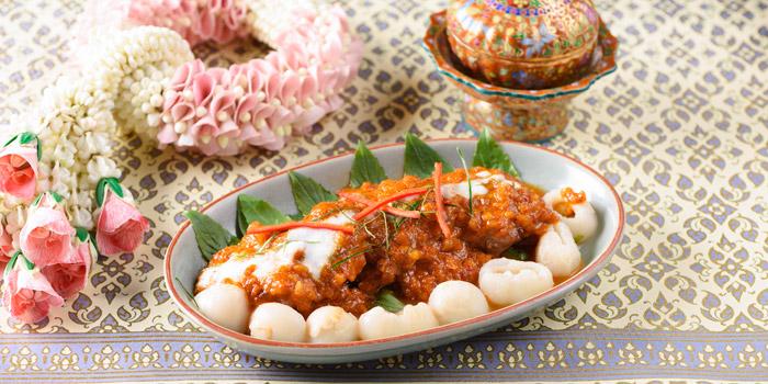 Panang Curry from Baan Khanitha by the Rive at Charoen Krung Rd Wat Phraya Kra, Bang Kho Laem Bangkok