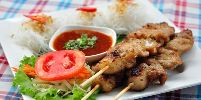Pork Skewers from Somtum Der at 5/5 Saladaeng Rd Silom, Bang Rak Bangkok