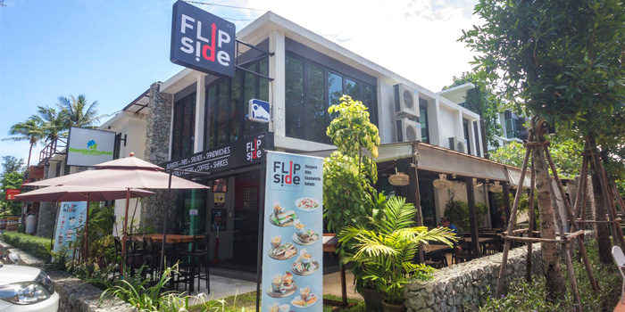 Restaurant Atmosphere of Flip Side in Rawai, Phuket, Thailand