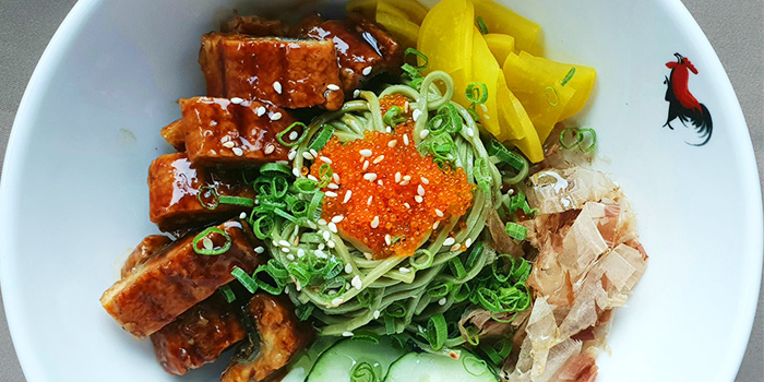 Japanese Unagi with Buckwheat Soba from Barnacles at Customs House in Fullerton, Singapore