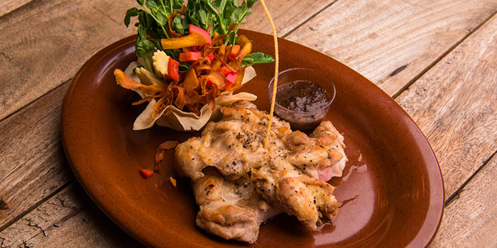 Black Pepper Chicken Thigh from Beer Factory in Raffles Place, Singapore