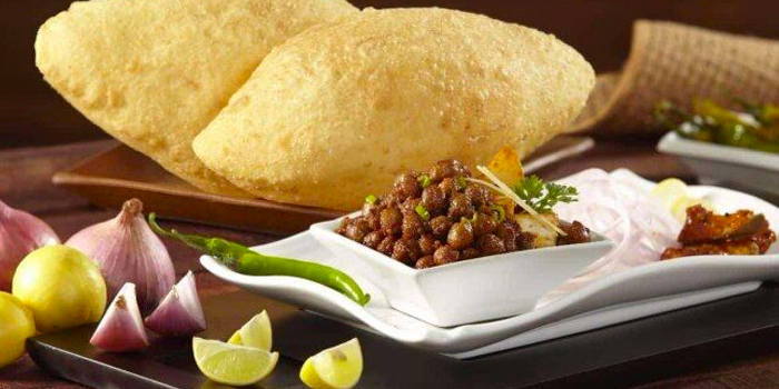 Chhole Bhature from Bikanervala at Changi Airport Terminal 3 in Changi, Singapore